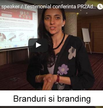 Cum a fost conferinta Branduri si branding, din 24 mai 2016